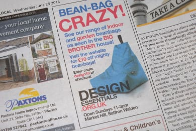DESIGN_ESS_BeanBag_advert
